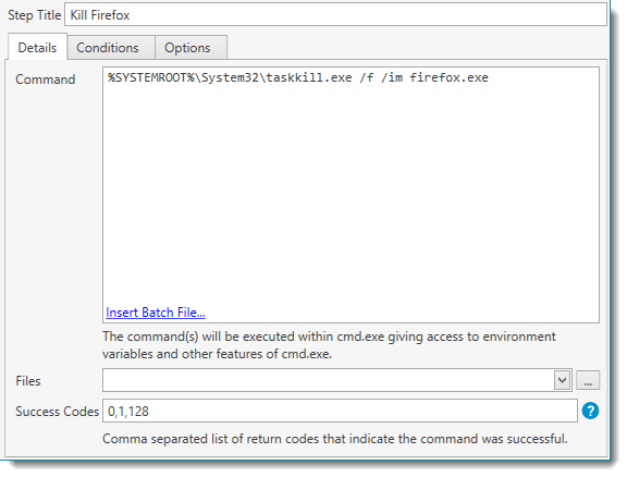 batch file cmd command example